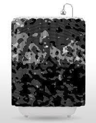 Graphic Shower Curtains by Strnad Shower Curtain 4 U2013 Blik