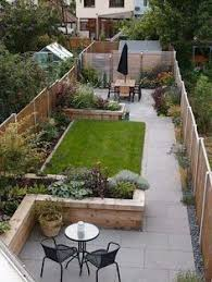 Design For A Small Back Town Garden On A Low Budget  Pinteres - Backyard designs images