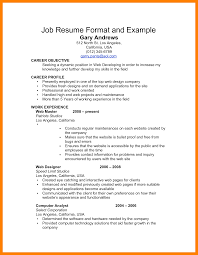 sample resume format with personal information protection