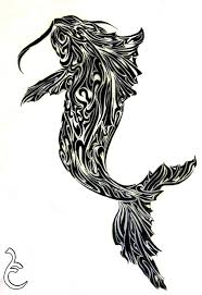 tribal stag tattoo 37 best tribal koi fish tattoos images on pinterest fish tattoos