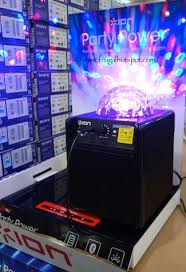 ion bluetooth speaker with lights costco sale ion party power wireless speaker with party lights