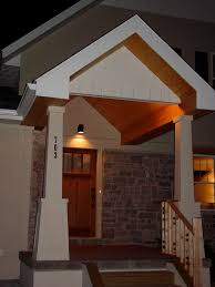 front porch lighting ideas craftsman wood light posts styles indirect lighting in the front