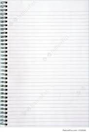 lined writing paper with picture space blank white lined notebook page stock picture i1329268 at featurepics blank white lined notebook page royalty free stock picture