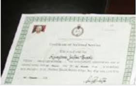 Birth Certificate Letter Sle How To Obtain Nysc Exemption Certificate Best Design Sertificate