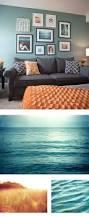 amazing burnt orange and teal living room decor modern on cool