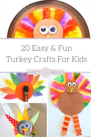 thanksgiving crafts 20 easy and fun turkey crafts for kids
