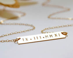 14 karat gold nameplate necklaces engraved necklace gold bar necklace initial bar engravable