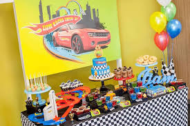 hot wheels cake toppers kara s party ideas hot wheels car birthday party kara s party