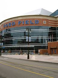 who do the lions play on thanksgiving what is the home field of the detroit lions
