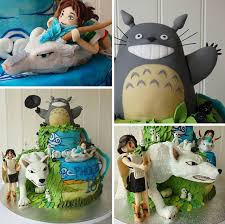 Studio Ghibli Decor 10 Totoro Cakes That Are Too Cute To Eat Bored Panda