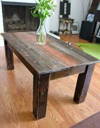 Barnwood Coffee Table Hand Crafted Barnwood Coffee Table By Ross Alan Reclaimed