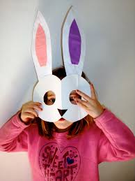 30 creative easter craft ideas for kids bunny mask easter