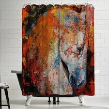 horse shower curtain wayfair