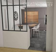 ouvrir sa cuisine ouvrir sa cuisine sur sa pièce de vie dans cette maison le mur