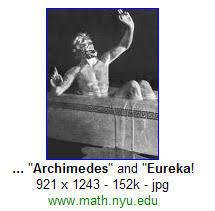 Eureka Bathtub Go Look Importantbook The Principle Of Archimedes And Newton On