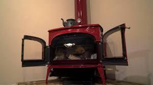 vermont castings intrepid ii bordeaux woodburning stove youtube