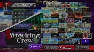 Ssp Flags Ssp U0027s For Bowser In The Dark World Stage Mod Super Smash Bros