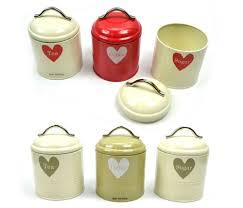 green cream kitchen storage jars whitby retro vintage tea coffee