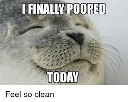 I Pooped Today Meme - i finally pooped today feel so clean finals meme on me me