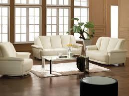 impressive idea white leather living room set remarkable design