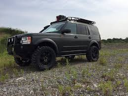 land rover lr4 lifted platinum lr4 rock sliders u2013 lucky 8 parts and accesories for land