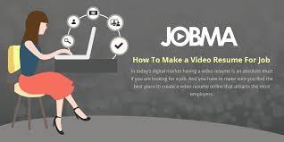 Online Video Resume by Jobma Jobmacareers Twitter