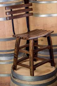 Bar Stool With Back Stave Bar Stool With Back The Oak Barrel Company