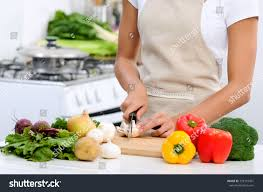 close hands slicing chopping raw vegetables stock photo 323110451