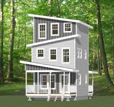 Buy Tiny House Plans 16x16 Tiny House 671 Sq Ft Pdf Floorplan Model 22d Tiny