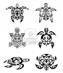 nice tribal turtle tattoos designs