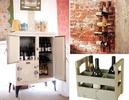 Wine Storage Cabinet Diy Wine Storage Ideas Furnish Burnish
