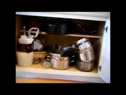 Cabinet Organizers For Pots And Pans Organizing The Kitchen Pots And Pans Cabinet Youtube