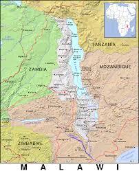 Malawi Map Mw Malawi Public Domain Maps By Pat The Free Open Source