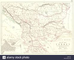 Asia Minor Map Turkey Map To Illustrate The War With Russia 1807 1812 Balkans