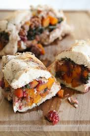 Stuffed Thanksgiving Turkey Butternut Stuffed Turkey Tenderloin With Cranberries And Pecans