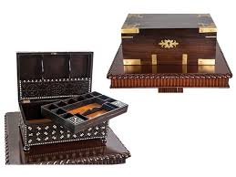 antique boxes and chests the art of packing colonial style