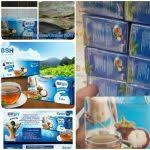 Teh Bsh bsh slimming tea slim herbal teh pelangsing kulit manggis