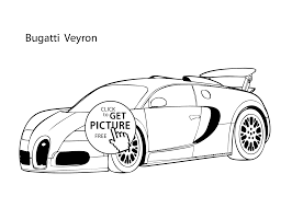 car buggati veyron coloring page cool car printable free