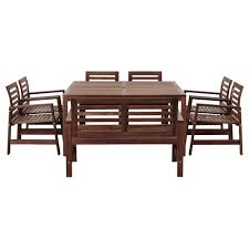6 Seat Patio Table And Chairs Outdoor Dining Furniture Dining Chairs U0026 Dining Sets Ikea