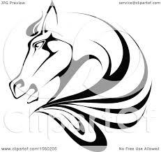 ferrari horse outline horse vector clip art u2013 cliparts