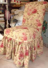 decorating shabby chic slipcovers slipcovers for armless chairs
