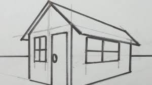drawing a house how to draw a 3d house