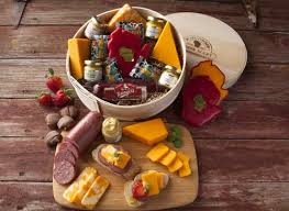 cheese gift baskets sausage gift baskets
