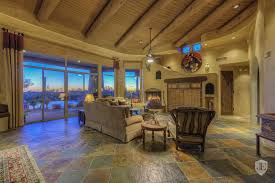 custom territorial style home with amazing mountain views in
