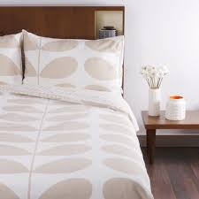 orla kiely giant stem print duvet cover clay king size at