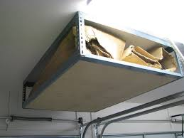 overhead ceiling garage storage ideas image of ceiling garage storage overhead