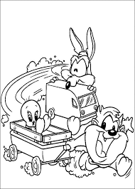 free printable looney tunes coloring pages kids