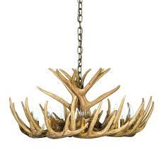 Antlers Lighting Chandelier Antler Chandeliers Cast Horn Designs