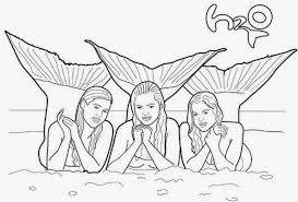 Coloring Pages H2o Coloring Pages