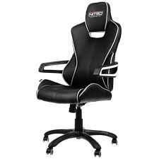 Black And White Chair by E200 Race Gaming Chair U2013 Black White Nitro Concepts